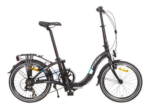 Grote foto subway vouwfiets 20 inch mat zwart fietsen en brommers vouwfietsen