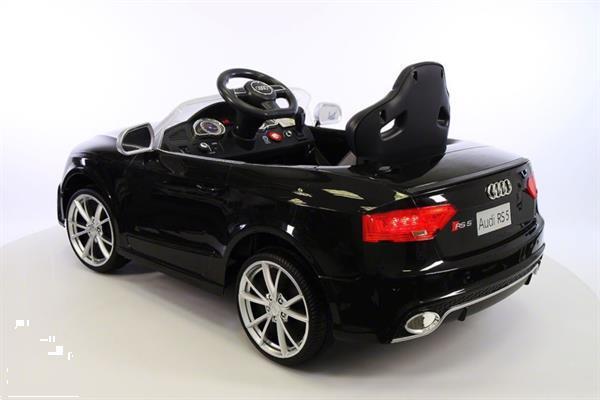 Grote foto audi rs5 metallic zwart 2.4ghz full options kinderen en baby los speelgoed