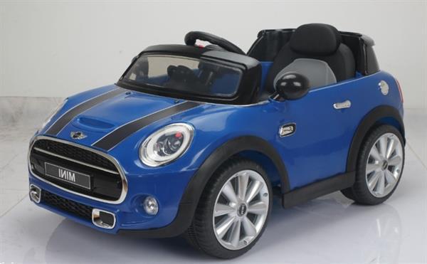 Grote foto mini cooper one 12v blauw kinderen en baby los speelgoed