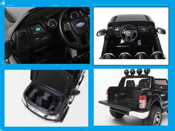Grote foto ford ranger zwart 12v full options 12v10ah kinderen en baby los speelgoed