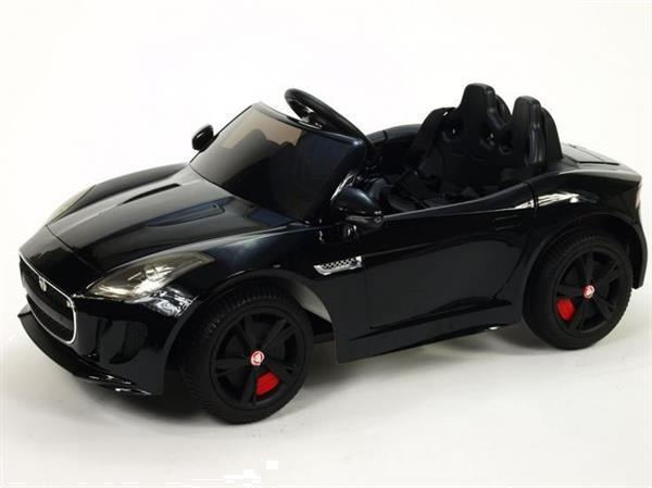Grote foto jaguar f type 12v metallic zwart kinderen en baby los speelgoed
