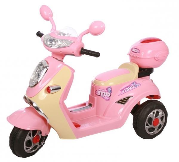 Grote foto vespa look kinderscooter 6v kinderen en baby los speelgoed