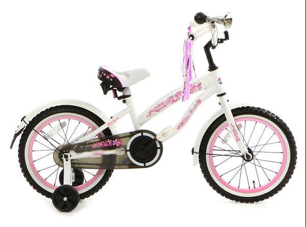 Grote foto bela 16 inch meisjesfiets wit fietsen en brommers algemeen