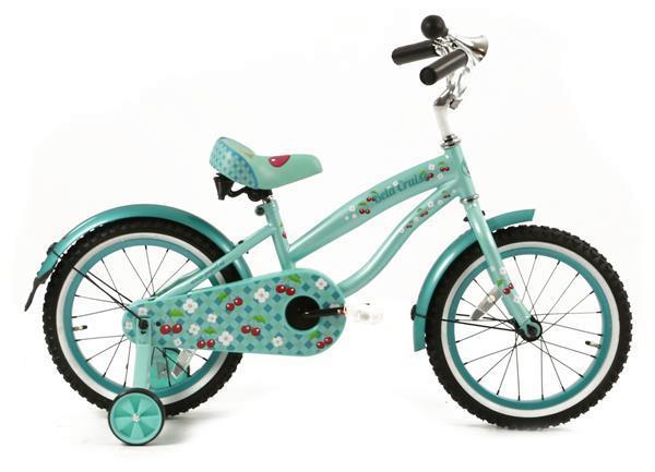 Grote foto bela 16 inch meisjesfiets aqua fietsen en brommers algemeen