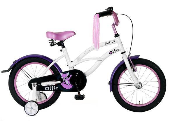 Grote foto olfie fayefox 16 inch wit fietsen en brommers algemeen