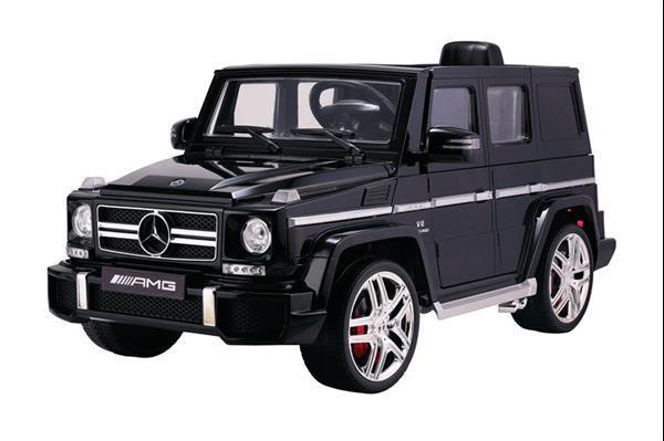 Grote foto mercedes g63 amg 2.4ghz metallic zwart kinderen en baby los speelgoed