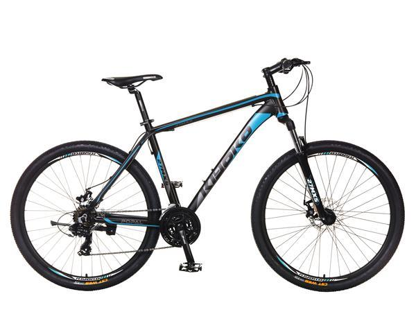 Grote foto kiyoko mountainbike 27 inch 18 versnl. blauw fietsen en brommers mountainbikes en atb