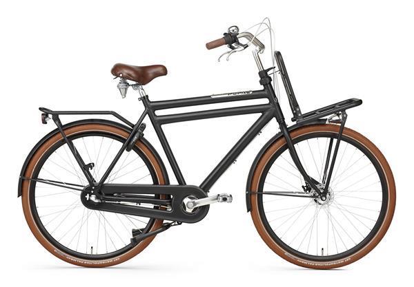 Grote foto daily dutch prestige n3 rb 28 inch transportfiets mat zwart fietsen en brommers herenfietsen
