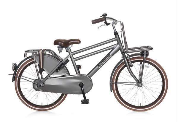 Grote foto daily dutch basic 22 inch jongensfiets titanium fietsen en brommers kinderfietsen