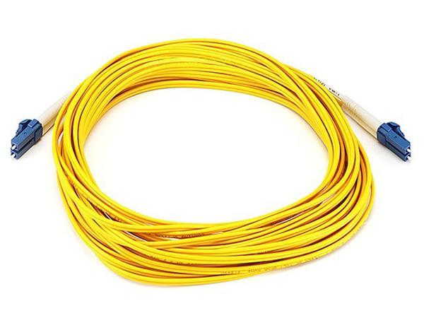 Grote foto act fiber patch cable lc lc 25m yellow computers en software netwerkkaarten routers en switches