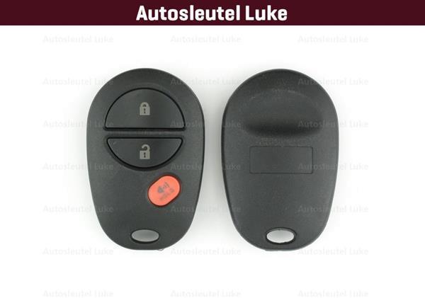 Grote foto toyota 3 knops afstandsbediening behui... kpb799 auto onderdelen overige auto onderdelen