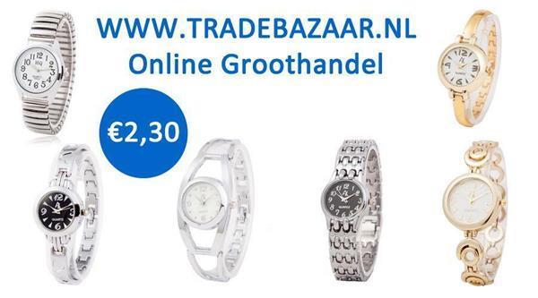 Grote foto online groothandel in horloges sieraden tassen en uiterlijk heren