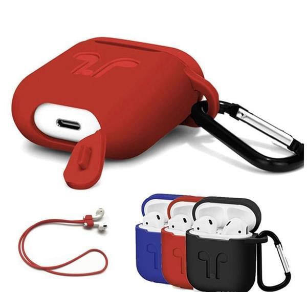 Grote foto case apple airpods hoes siliconen hoesje strap haak 3 k audio tv en foto koptelefoons