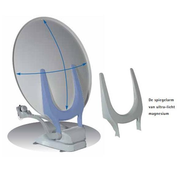 Grote foto oyster v 85 cm telecommunicatie satellietontvangers