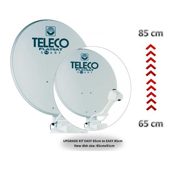 Grote foto teleco upgrade set easy 65cm naar easy 85cm telecommunicatie satellietontvangers