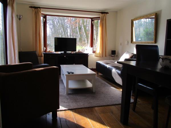 Grote foto tijdelijke verhuur van woonruimte tegen bos gelegen. zoekt u vakantie nederland noord
