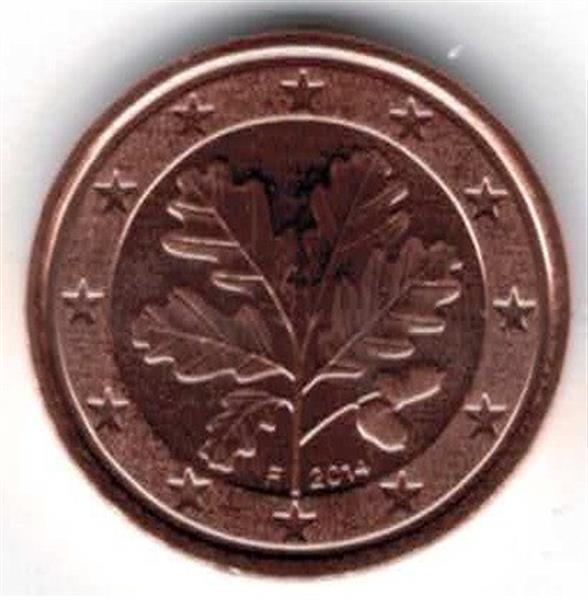 Grote foto duitsland 1 cent 2014 f verzamelen munten overige