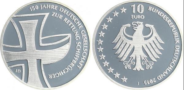 Grote foto duitsland 10 euro 2015 schipbreukelingen verzamelen munten overige