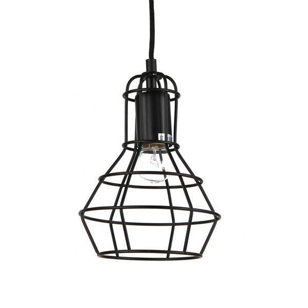 Grote foto hanglamp plafondlamp marseille zwart huis en inrichting overige
