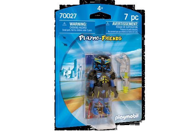 Grote foto playmobil playmo friends 70027 ruimteagent kinderen en baby duplo en lego