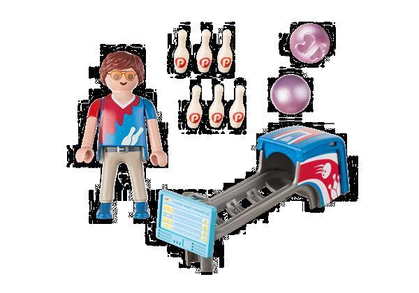 Grote foto playmobil special plus 9440 bowlingspeler kinderen en baby duplo en lego