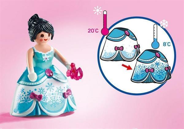 Grote foto playmobil magic 9469 kristallen paleis kinderen en baby duplo en lego