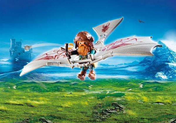 Grote foto playmobil knights 9342 dwergzweefvlieger kinderen en baby duplo en lego