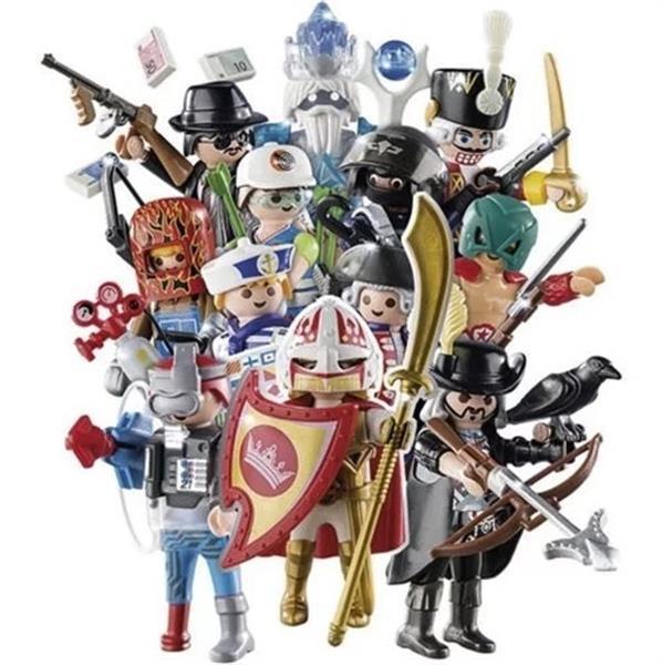 Grote foto playmobil fi ures 10390 serie 14 jongens figuurtje kinderen en baby duplo en lego