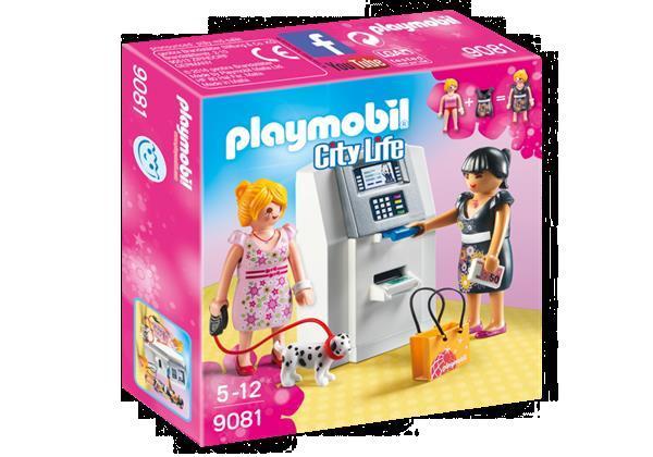 Grote foto playmobil city life 9081 geldautomaat kinderen en baby duplo en lego