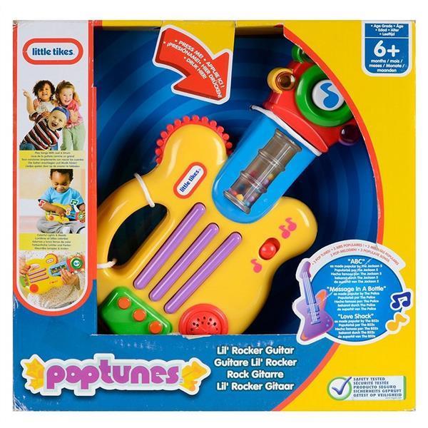 Grote foto little tikes pop tunes lil rocker guitar kinderen en baby babyspeelgoed