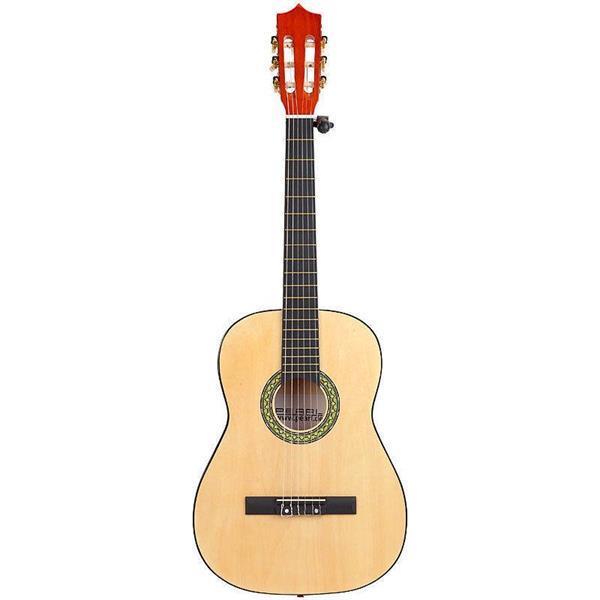 Grote foto akoestische gitaar met accessoires muziek en instrumenten speakers