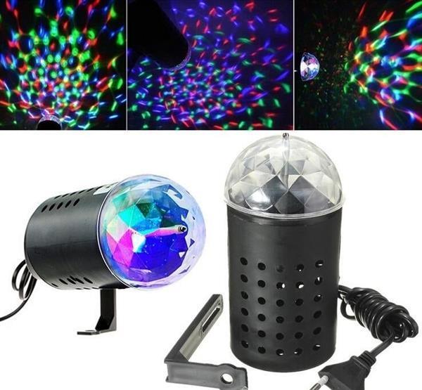 Grote foto disco lamp projector verlichting discolamp discobol led 3w muziek en instrumenten overige muziek en instrumenten