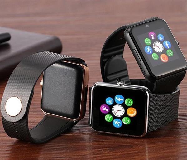 Grote foto smartwatch smart watch android ios sim bluetooth nfc 4 kleu kleding dames horloges