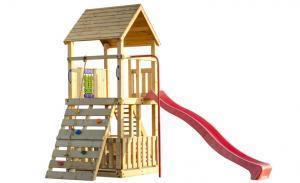 Grote foto speeltoestel orang oetan met punt dak kinderen en baby los speelgoed