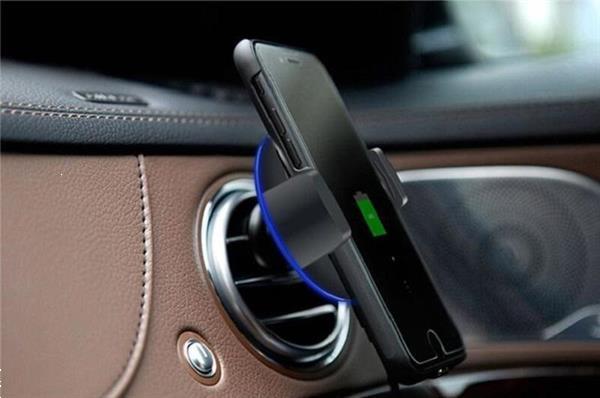 Grote foto telefoonhouder auto ventilatie rooster 360 draaibaar oplader telecommunicatie carkits en houders