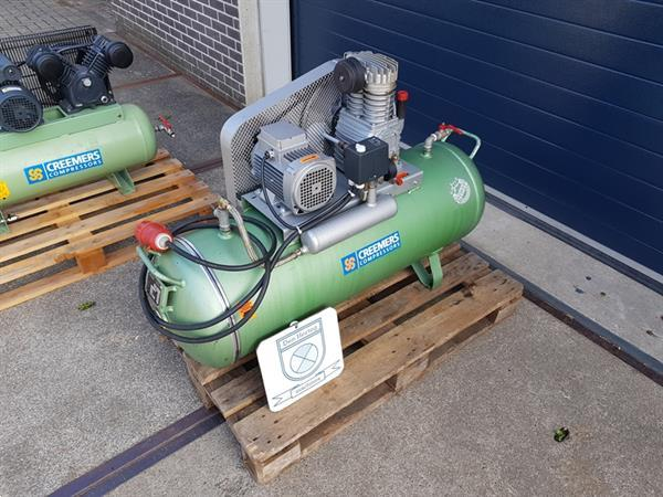 Grote foto creemers compressor 150l 10bar 400v geheel nagezien en klaar doe het zelf en verbouw compressors