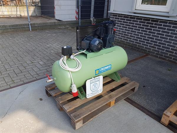 Grote foto creemers compressor 2 2kw 150l tank gebruikte compressors we doe het zelf en verbouw compressors