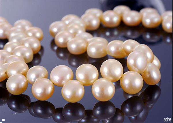 Grote foto no 275 parelcollier met echte parels 50 cm sieraden tassen en uiterlijk kettingen