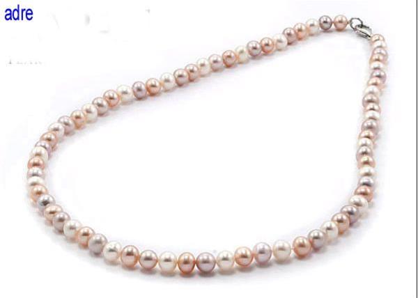 Grote foto no 263 parelcollier van echte parels 45 cm sieraden tassen en uiterlijk kettingen