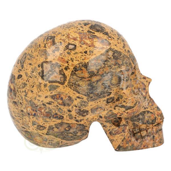 Grote foto jaspis breccie schedel 255 gram verzamelen overige verzamelingen