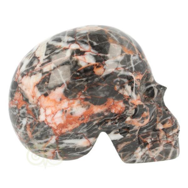 Grote foto jaspis tiger skin schedel 323 gram verzamelen overige verzamelingen