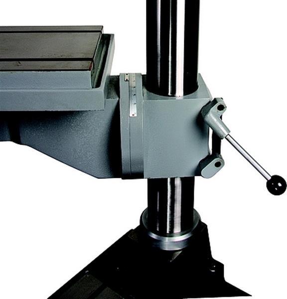 Grote foto kolomboormachine hu25tk tandwiel geschakeld noodstop 400v ni doe het zelf en verbouw gereedschappen en machines