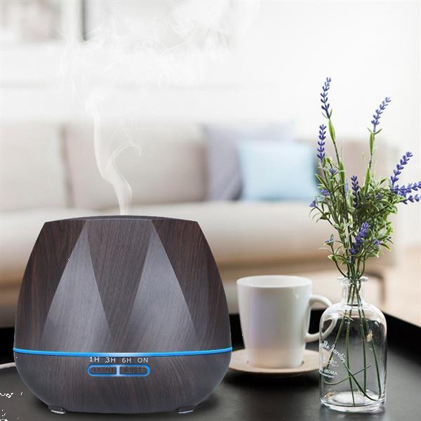 Grote foto 550ml lucht bevochtiger aroma diffuser verdamper verstuiver huis en inrichting woningdecoratie