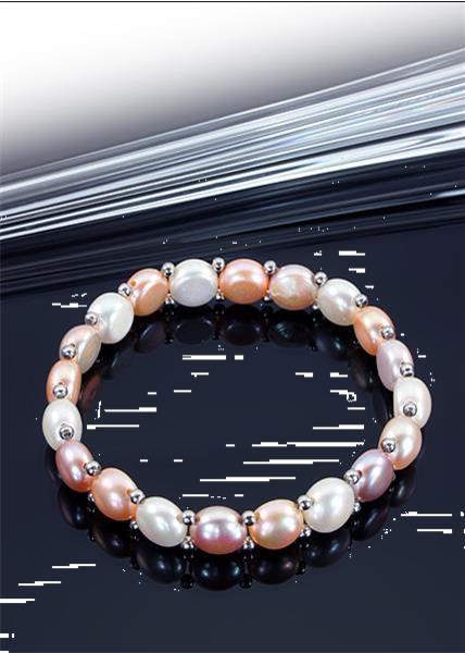 Grote foto no 217 parelarmband parels 18 cm sieraden tassen en uiterlijk armbanden voor haar