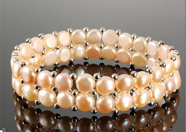 Grote foto no 120 fijne armband parels 17 cm sieraden tassen en uiterlijk armbanden voor haar