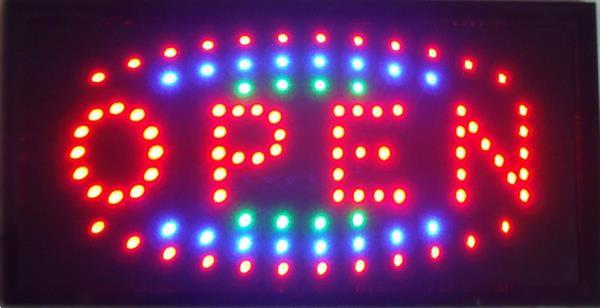 Grote foto open led bord lamp verlichting lichtbak reclamebord c12 huis en inrichting overige