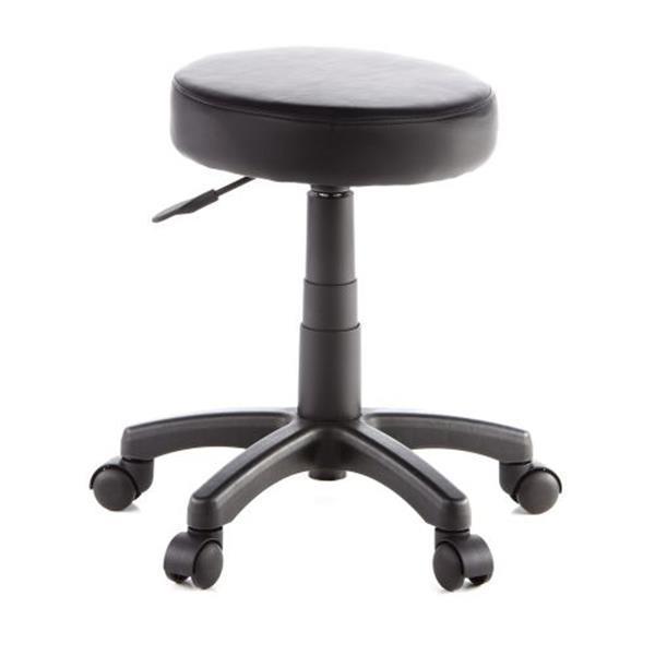 Grote foto disc werkstoel werkkruk verhoogde bureaustoel zwart huis en inrichting onderdelen en accessoires