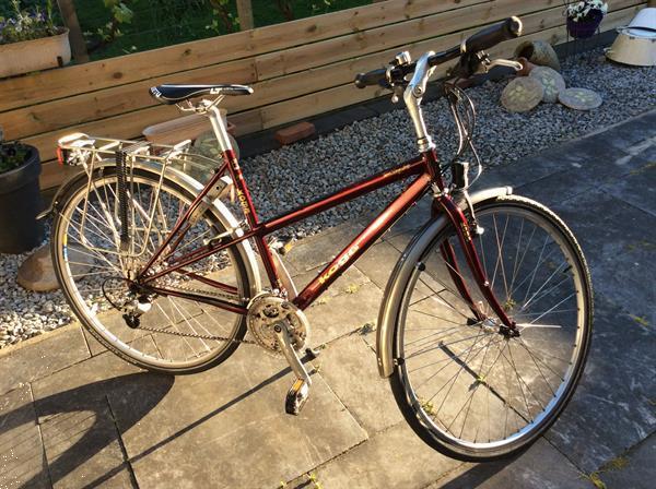 Grote foto wijnrode koga miyata dames fiets .....maat 50 fietsen en brommers sportfietsen