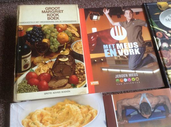 Grote foto kookboeken met meus peutervoeding fit tips boeken kookboeken