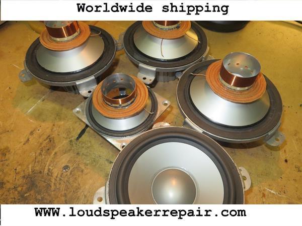 Grote foto luidspreker reparatie speaker herstelling audio tv en foto luidsprekers